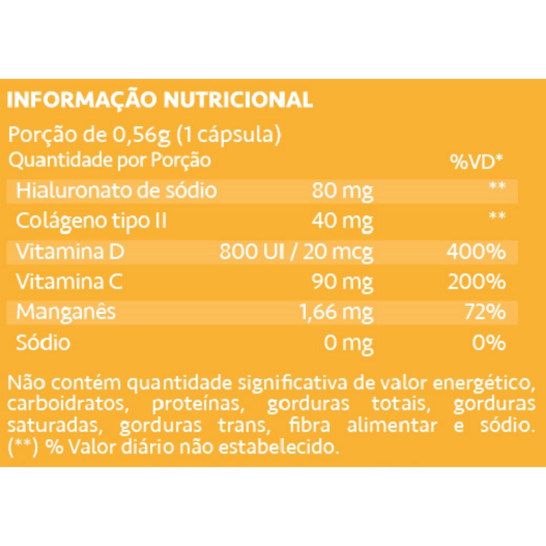 Condrigen HA Colágeno Tipo II + Ácido Hialurônico 30 Cápsulas Maxinutri