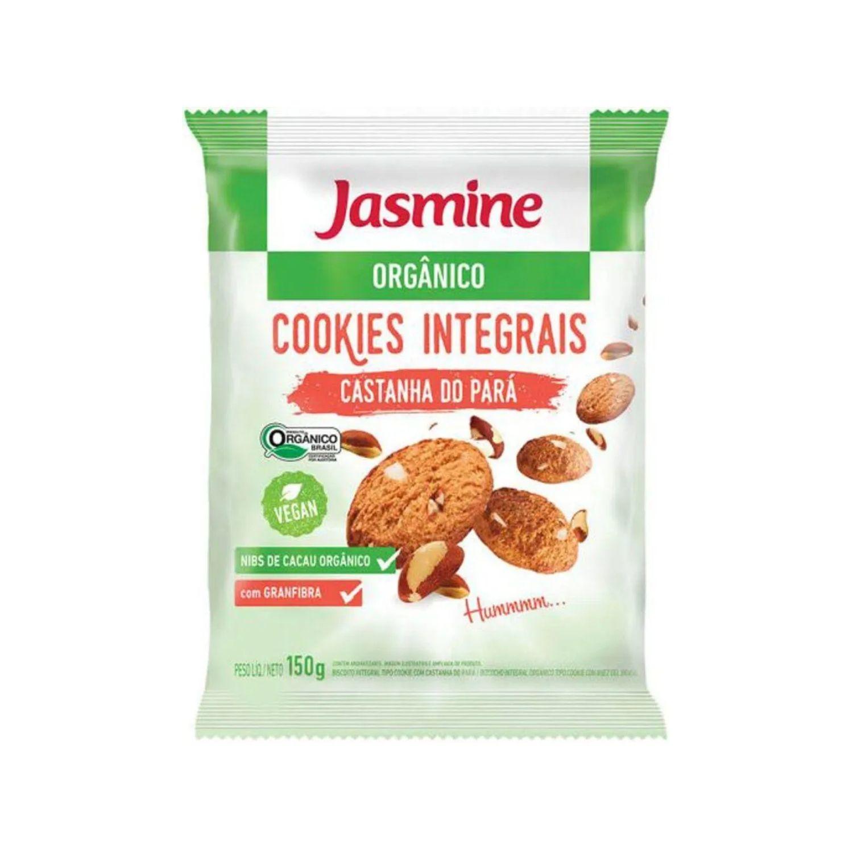 Cookies Orgânicos Castanha-do-Pará 150g Jasmine