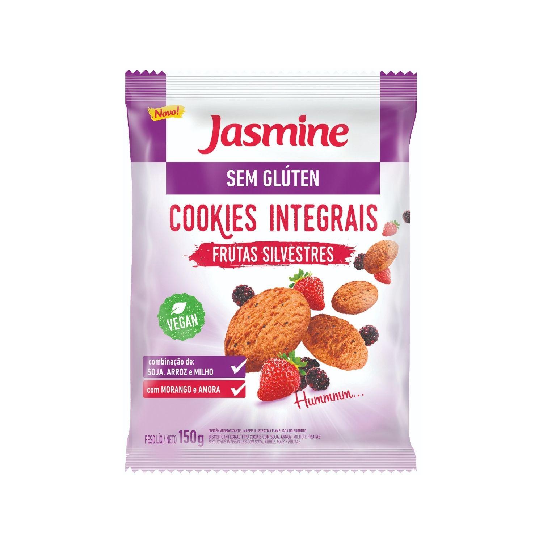 Cookies Sem Glúten Frutas Silvestres 150g Jasmine
