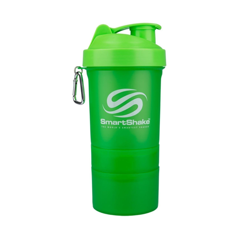 Coqueteleira 3 Doses SmartShake V2 Neon 600ml Verde