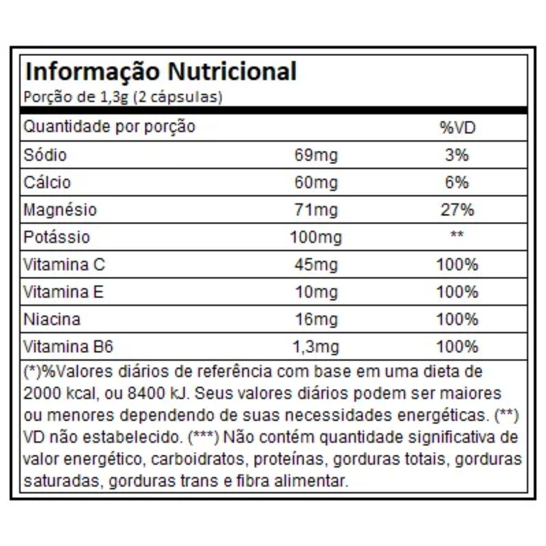 Cramp Block 60 Cápsulas Atlhetica Nutrition