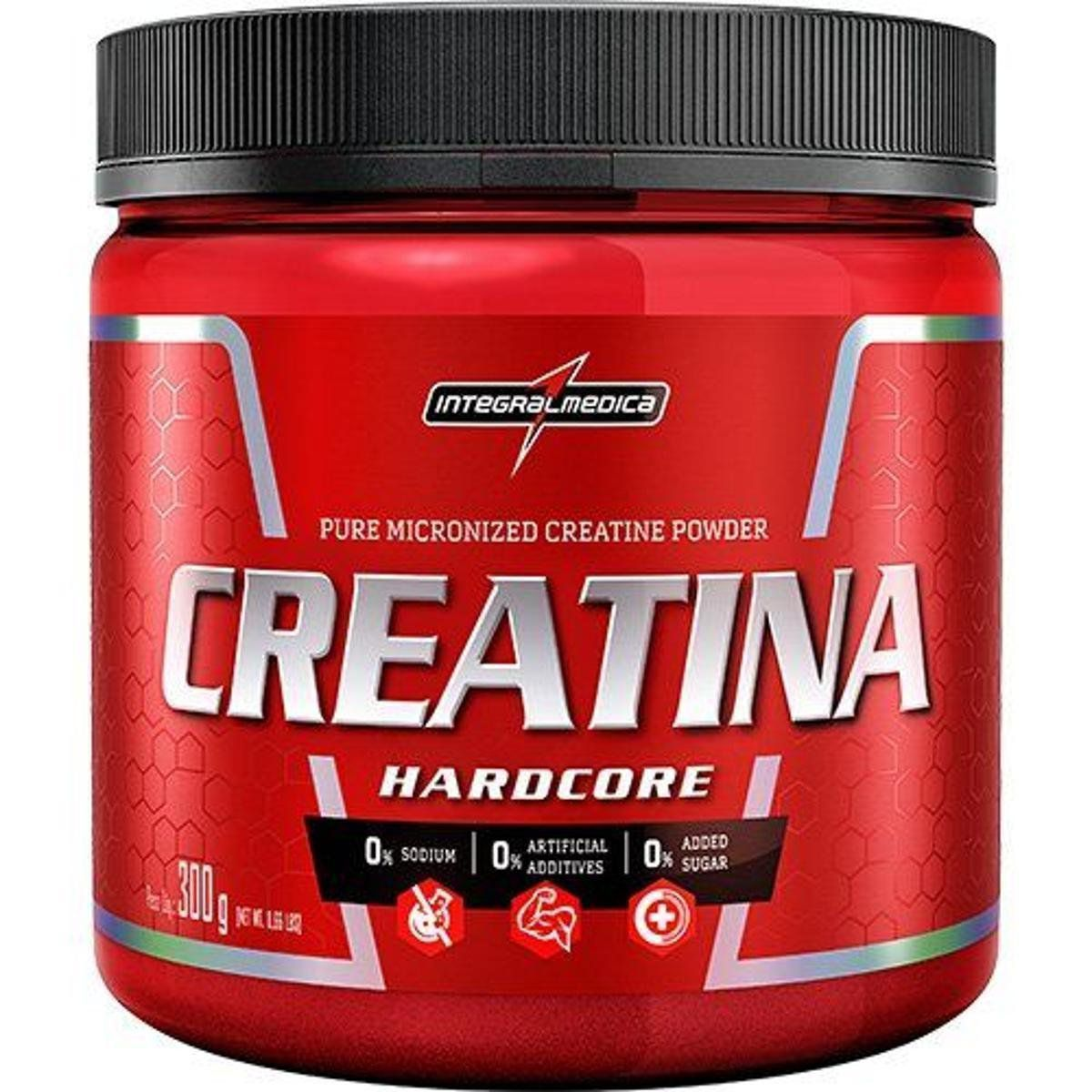 Creatina Hardcore 300g Integralmedica