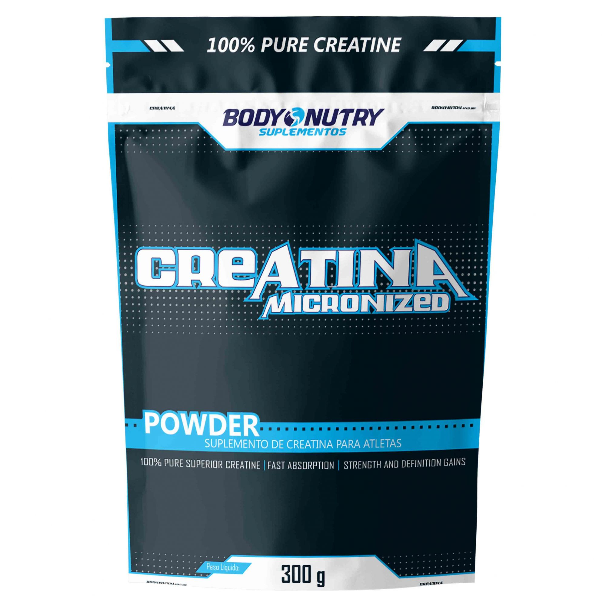 Creatina Micronizada Refil 300g Body Nutry