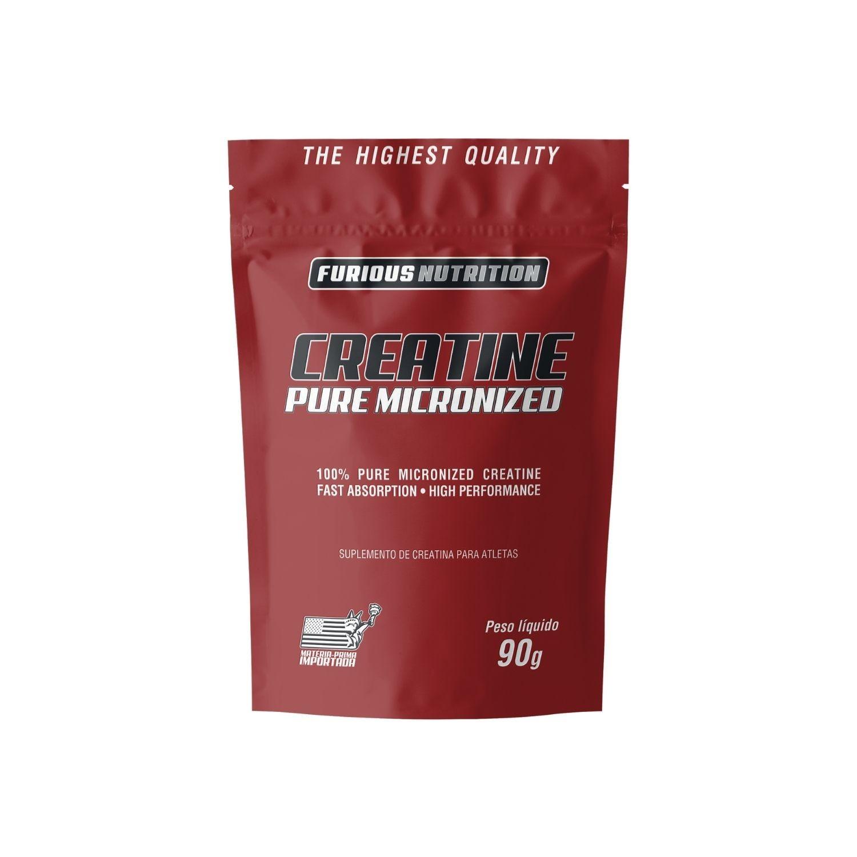 Creatina Micronizada Refil 90g Furious Nutrition