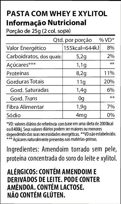 Creme de Amendoim Crunchy 450g Holy Nuts +MU
