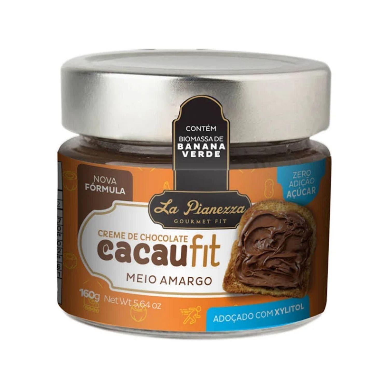 Creme de Chocolate CacauFit Meio Amargo 160g La Pianezza