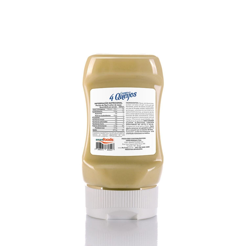 Creme Quatro Queijo 235g Mrs Taste Zero Lactose