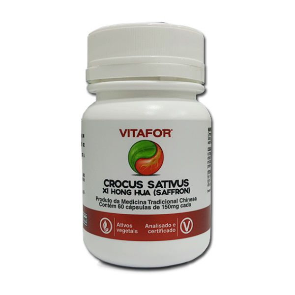 Crocus Sativus 60 Cápsulas Vitafor