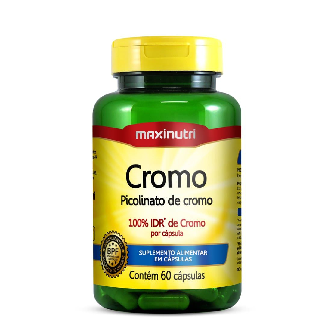 Cromo 60 Cápsulas Maxinutri
