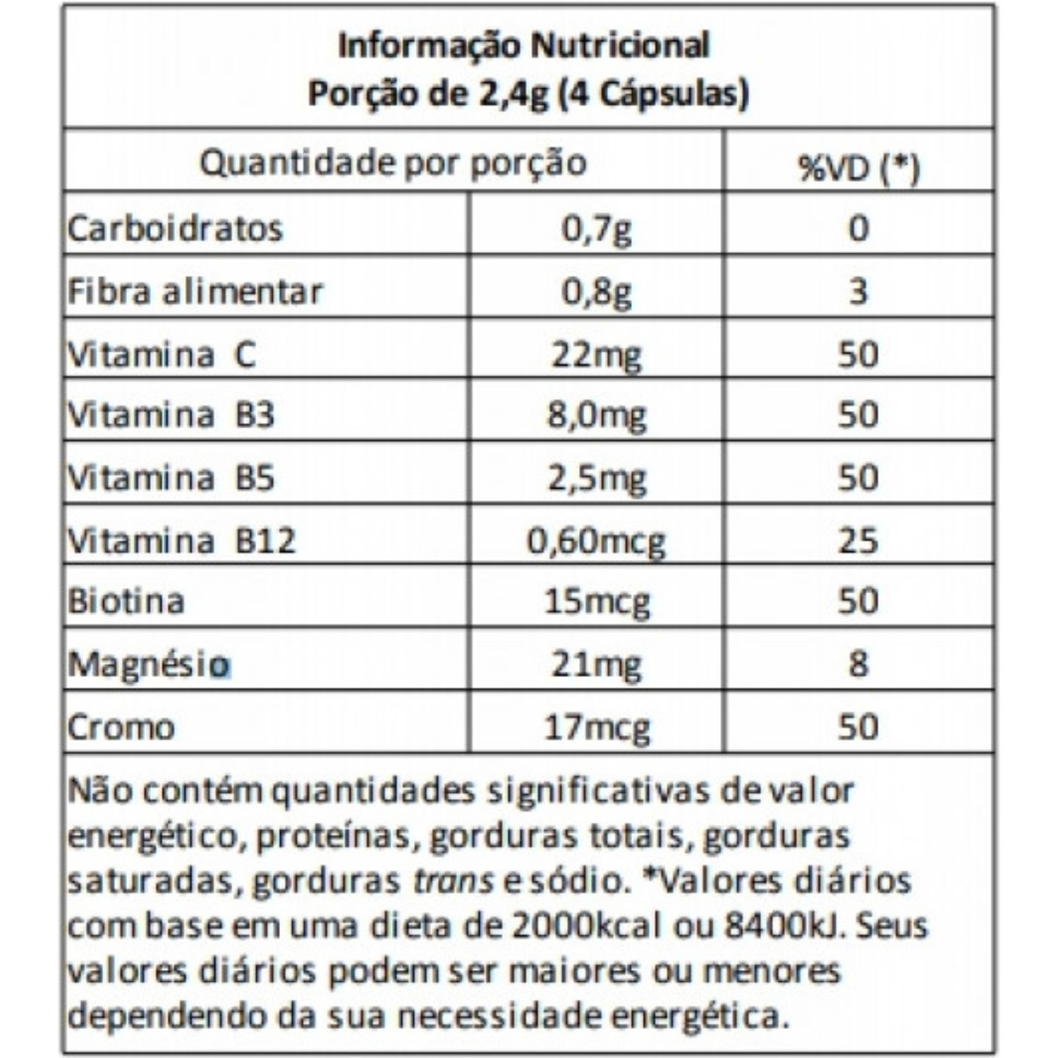 Desodalina 60 Cápsulas Power Supplements