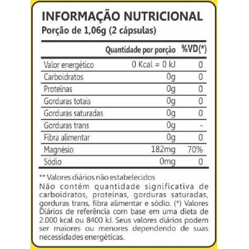 Dimag Di-Malato de Magnésio 60 Cápsulas Maxinutri