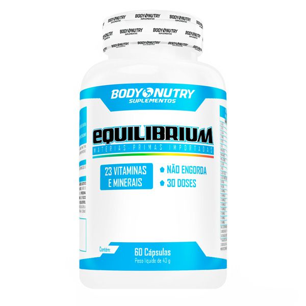 Equilibrium Multivitamínico 60 Cápsulas Body Nutry