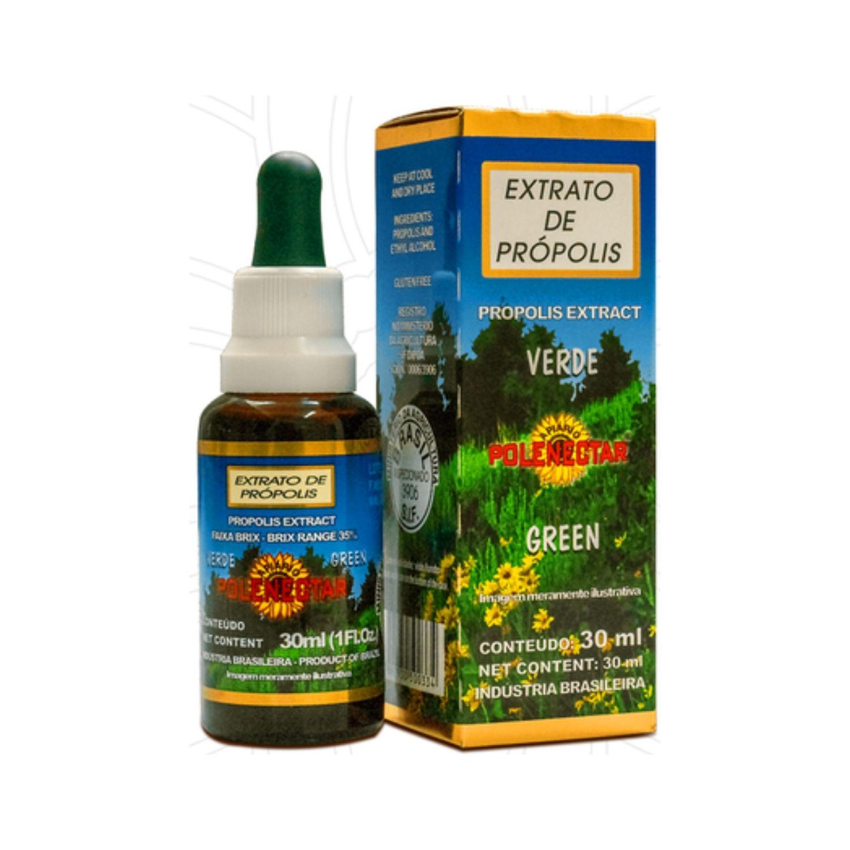 Extrato de Própolis Verde 35% Brix 30ml Polenectar