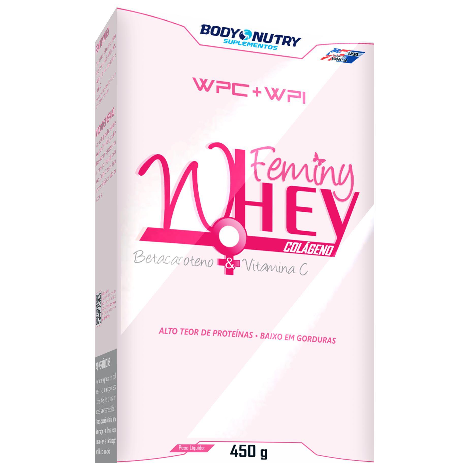Femini Whey 450g Body Nutry