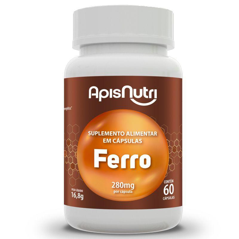 Ferro 60 Cápsulas Apisnutri