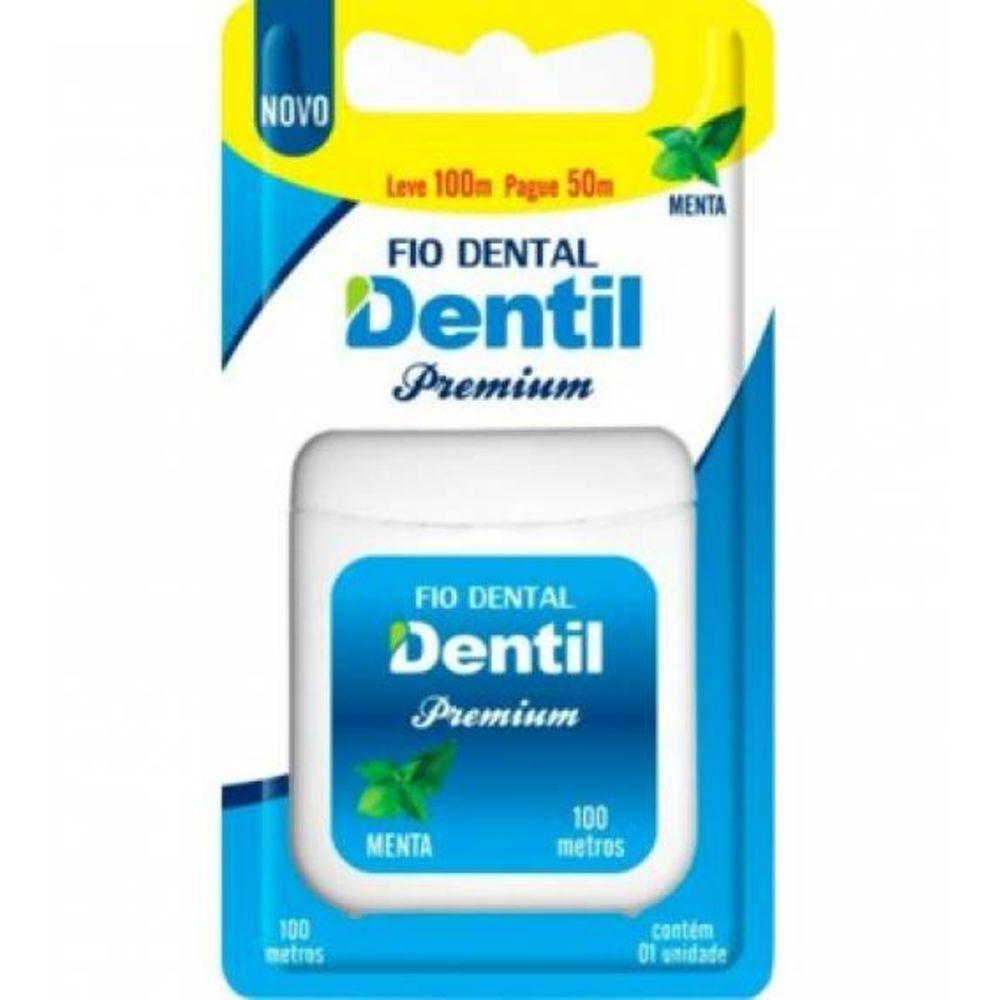 Fio Dental Dentil Premium Leve 100m e Pague 50m