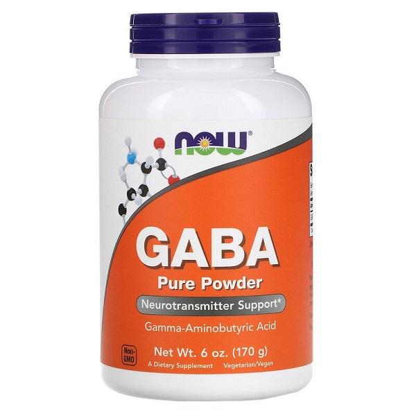 Gaba Pura em Pó 170g Now Foods