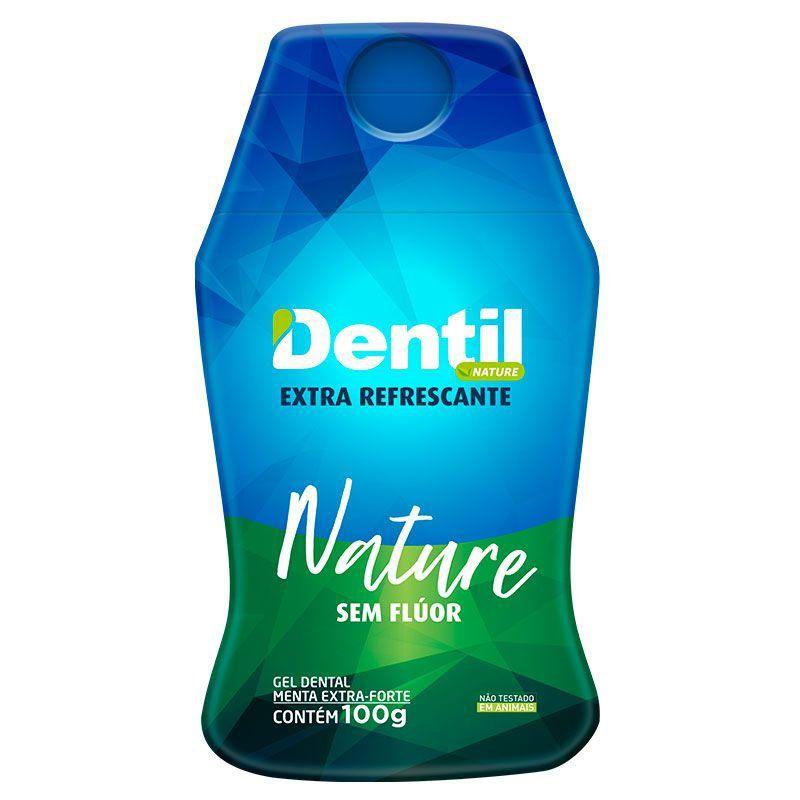 Gel Dental Dentil Nature Extra Refrescante com Xilitol 100g