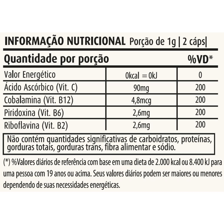 Geleia Real 500mg 60 Cápsulas Apisnutri