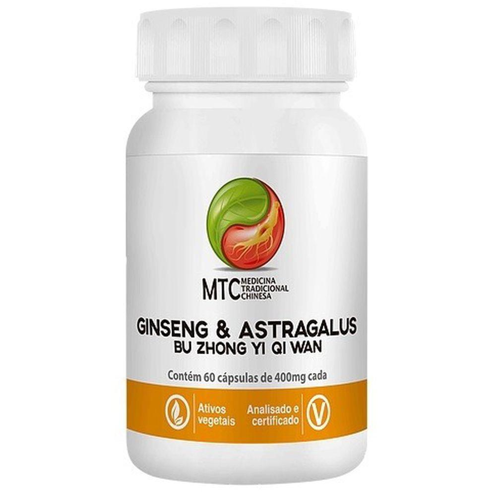 Ginseng & Astragalus 60 Cápsulas Vitafor