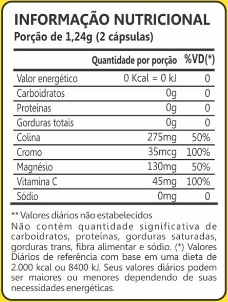 Goji Berry 500mg 60 Cápsulas Maxinutri