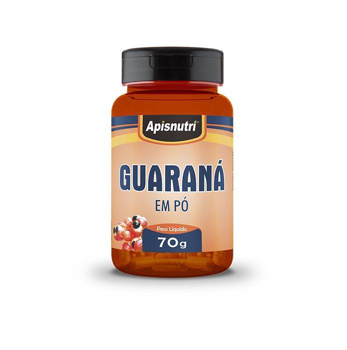 Guaraná em Pó 70g Apisnutri