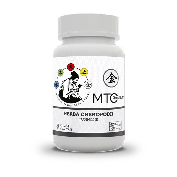 Herba Chenopodii Tujingjie 420mg 60 Cápsulas Apisnutri