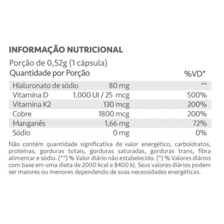Hialucart Ácido Hialuronico 60 Cápsulas Maxinutri