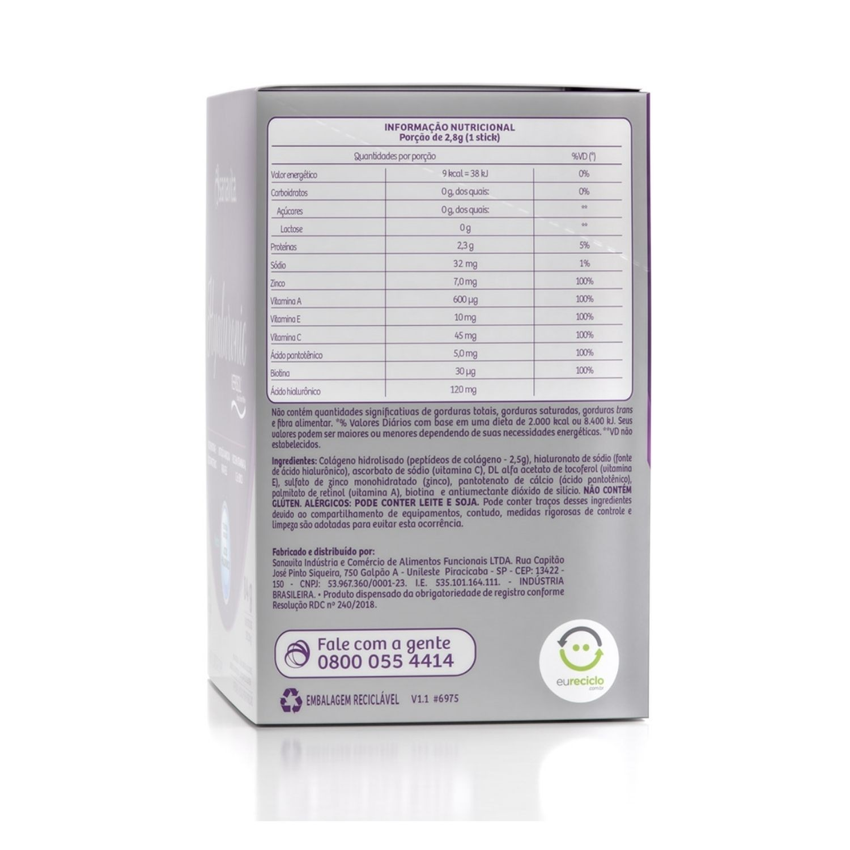 Hyaluronic com Ácido Hialurônico + Colágeno Verisol 30 Sachês Sanavita