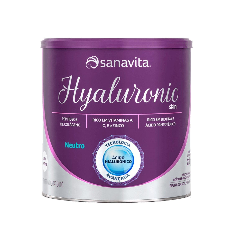 Hyaluronic Skin com Colágeno e Ácido Hialurônico 300g Sanavita