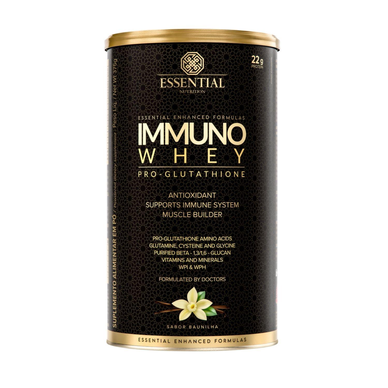 Immuno Whey Baunilha 375g Essential Nutrition