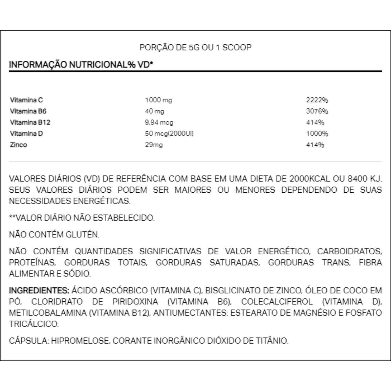 Imunodop Multivitamínico 120 Cápsulas Elemento Puro