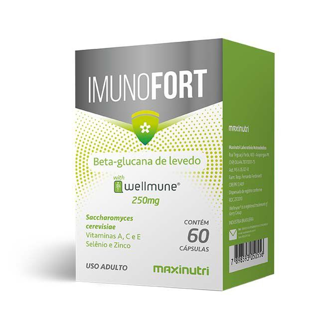 Imunofort 60 Cápsulas Maxinutri