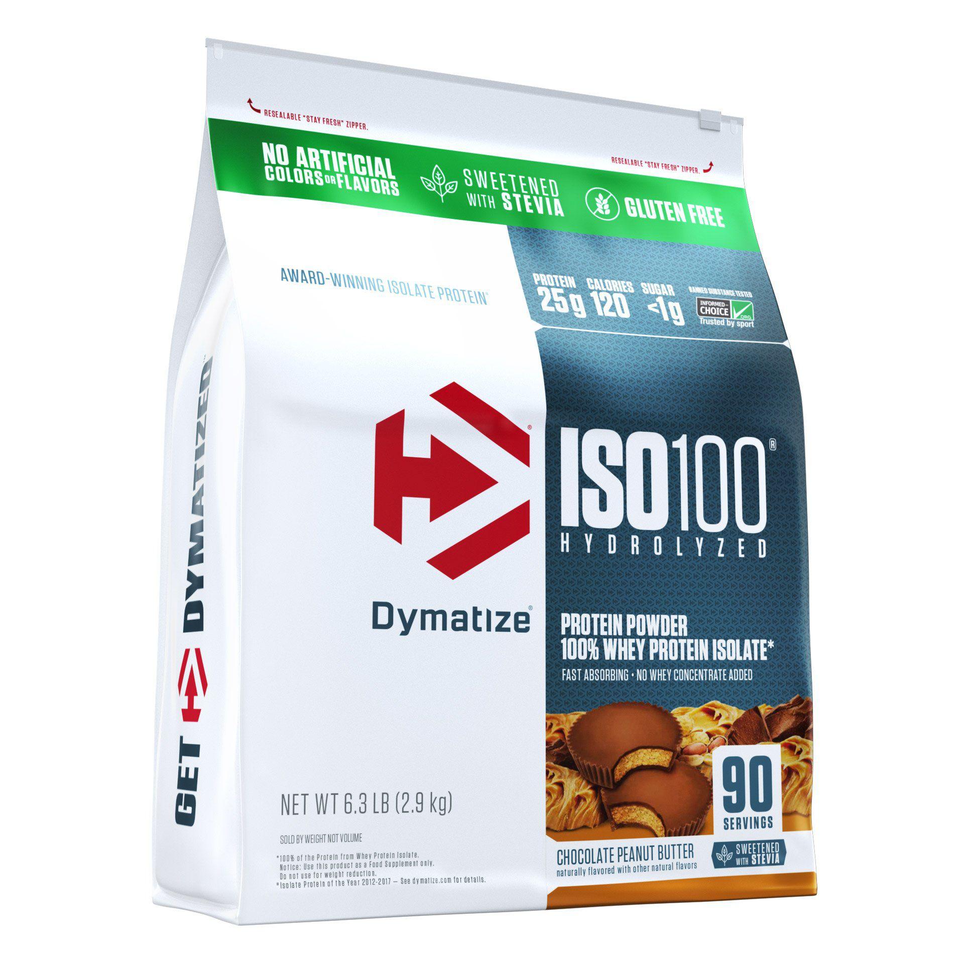 ISO 100% Whey 2,900g Dymatize Refil
