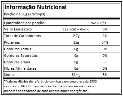 Iso Triple Zero 907g Integralmedica