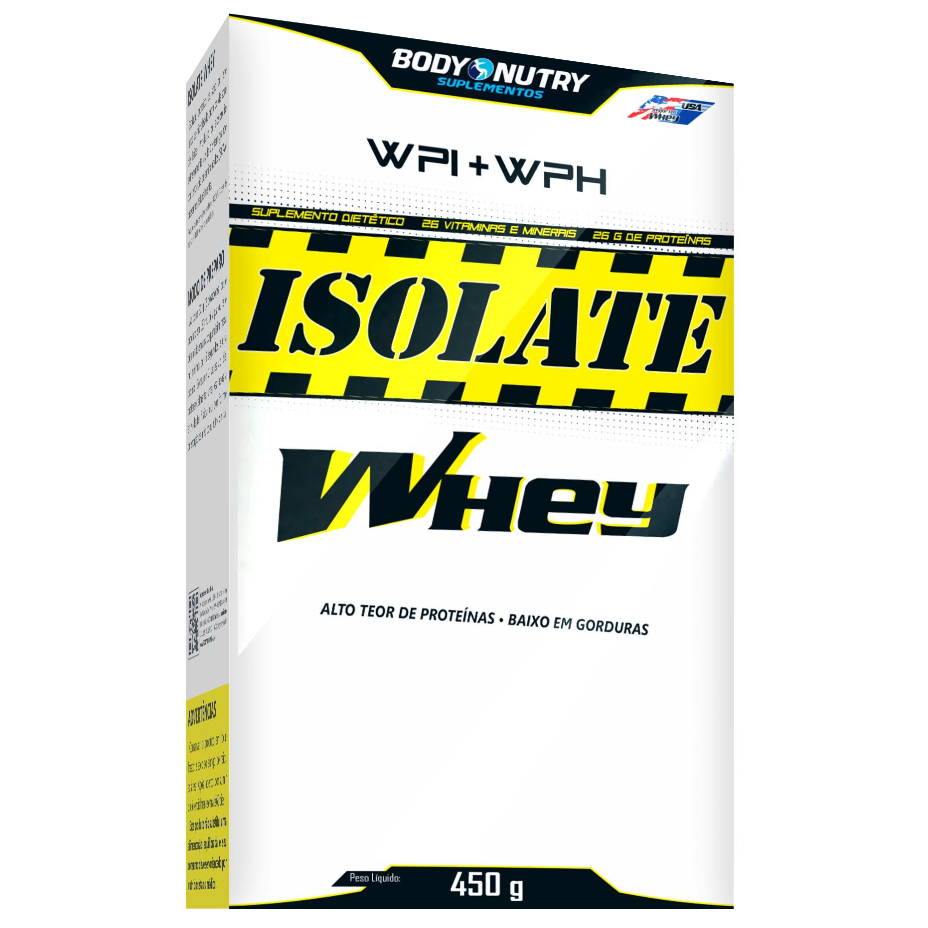 Isolate Whey 450g Body Nutry