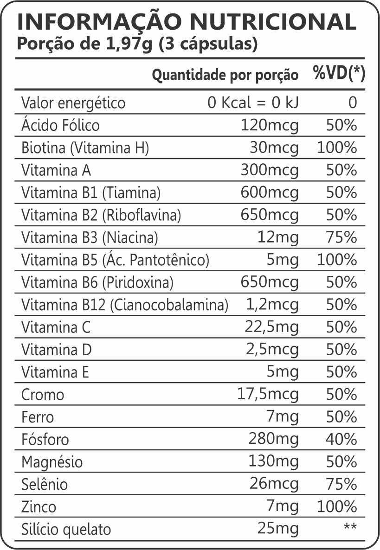 Kit 2x Hairskin & Nails Femme 500mg 90 Cápsulas Maxinutri