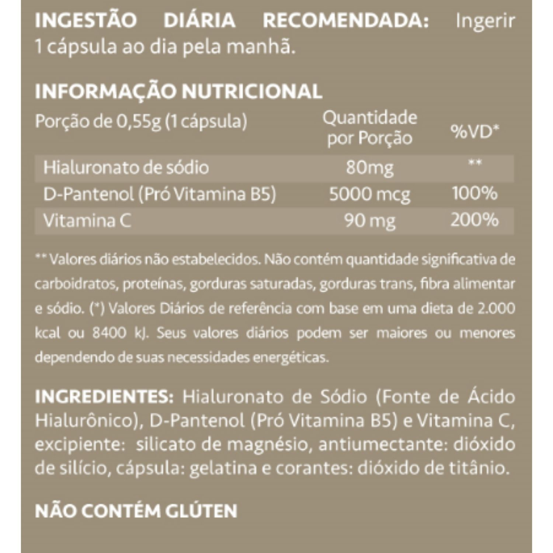 Kit com 1 HairSkin & Nails Supreme 60 Cápsulas + 1 DermUp Supreme 30 Cápsulas Maxinutri