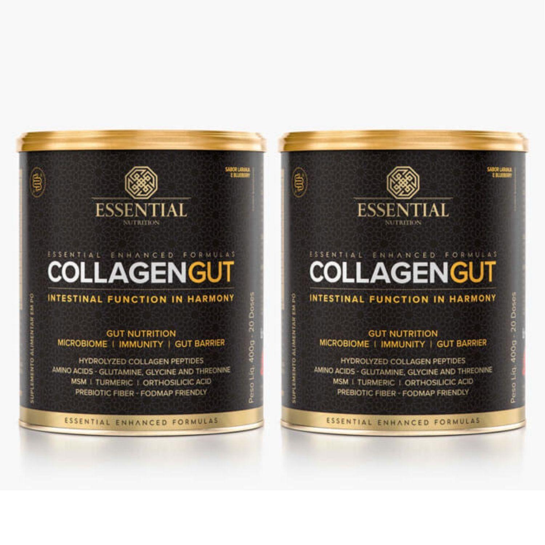 Kit com 2 Collagen Gut 400g Essential Nutrition