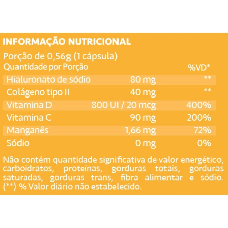 Kit com 2 Condrigen HA Colágeno Tipo II + Ácido Hialurônico 30 Cápsulas Maxinutri