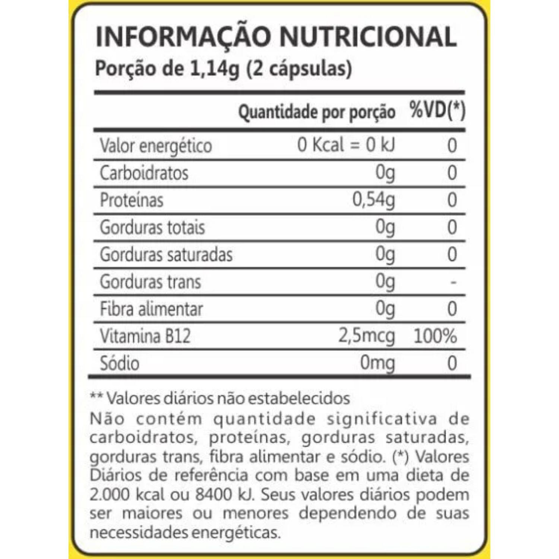 Kit com 2 Espirulina 450mg 60 Cápsulas Maxinutri