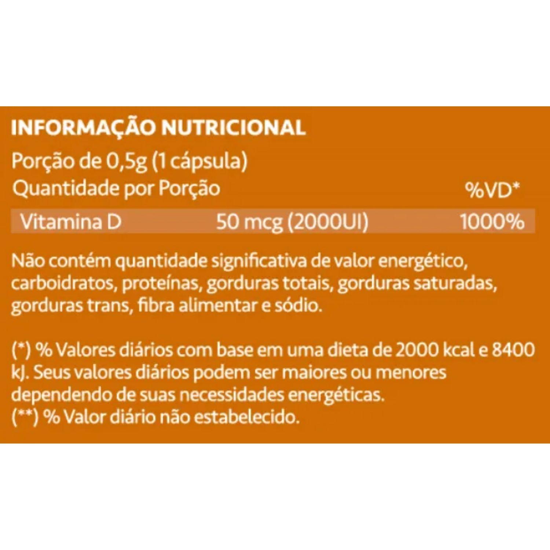 Kit com 2 NutriDê Maxx 2000ui 60 Cápsulas Maxinutri