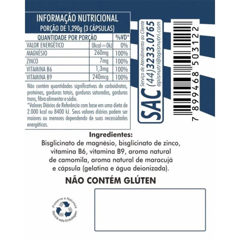 Kit com 3 Pró Melaton 120 Cápsulas Apisnutri