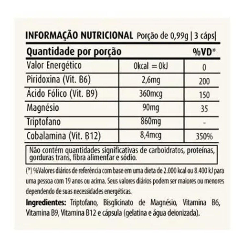 Kit com 4 Pró Serotonin 60 Cápsulas Apisnutri
