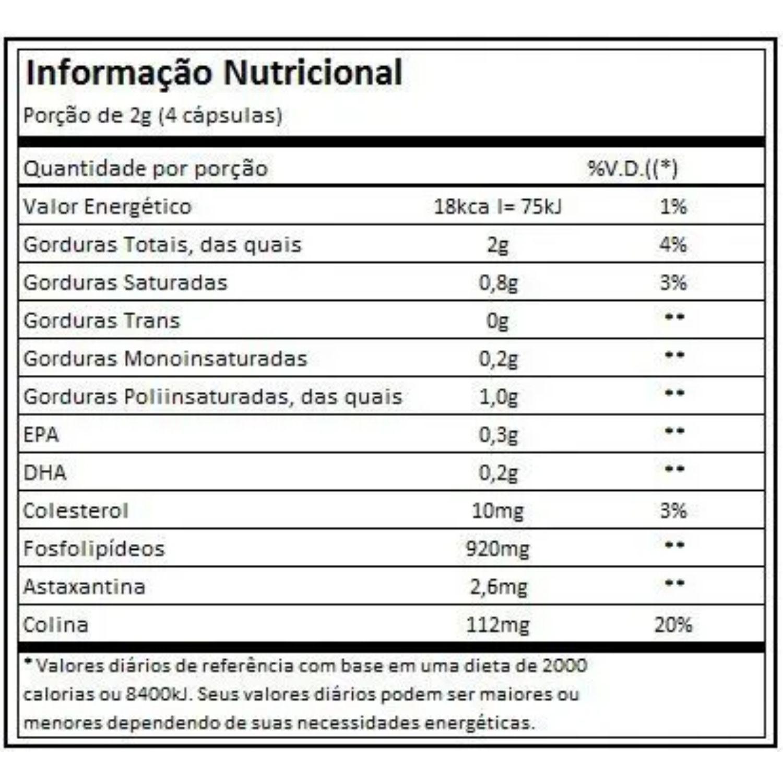 Krill Vit 30 Cápsulas Vitafor