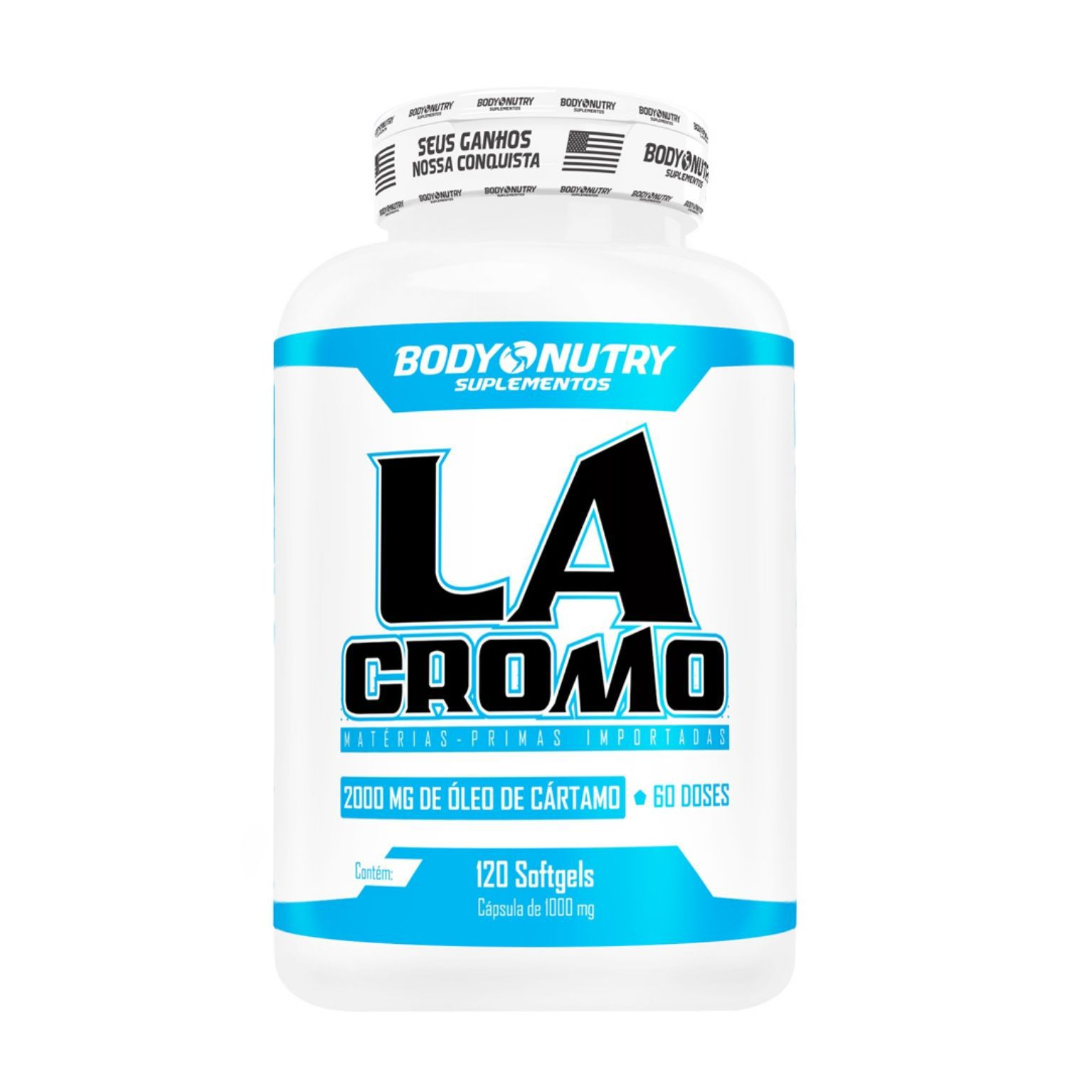 La Cromo 1000mg 120 Cápsulas Body Nutry