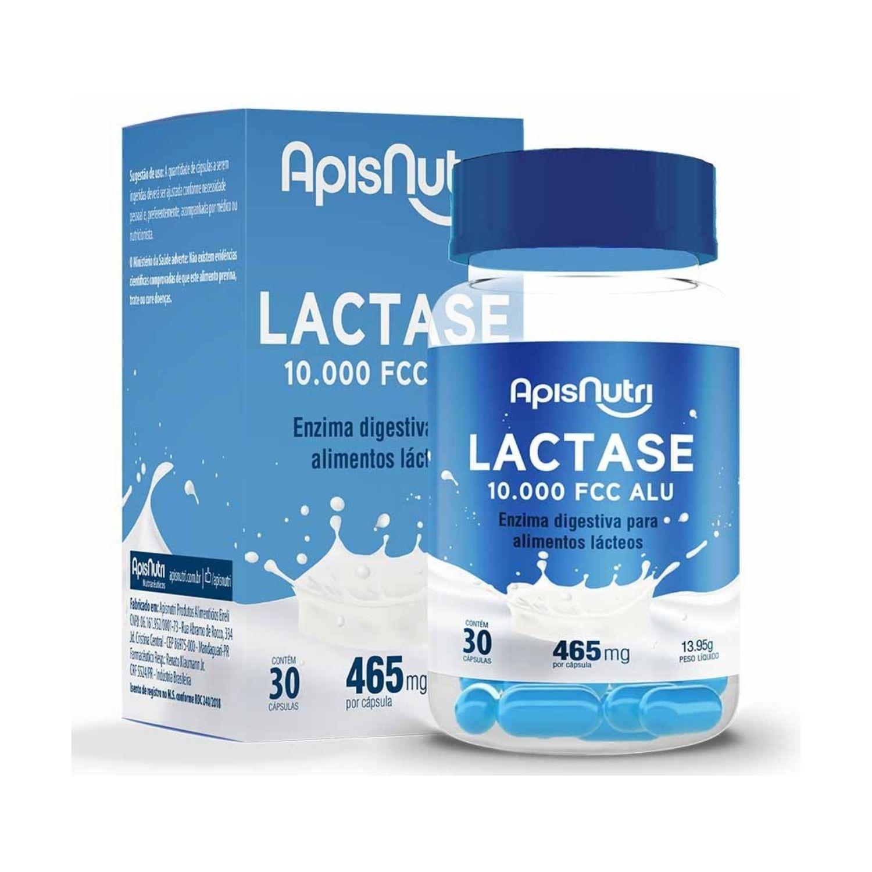Lactase 10.000 FCC ALU 30 Cápsulas Apisnutri