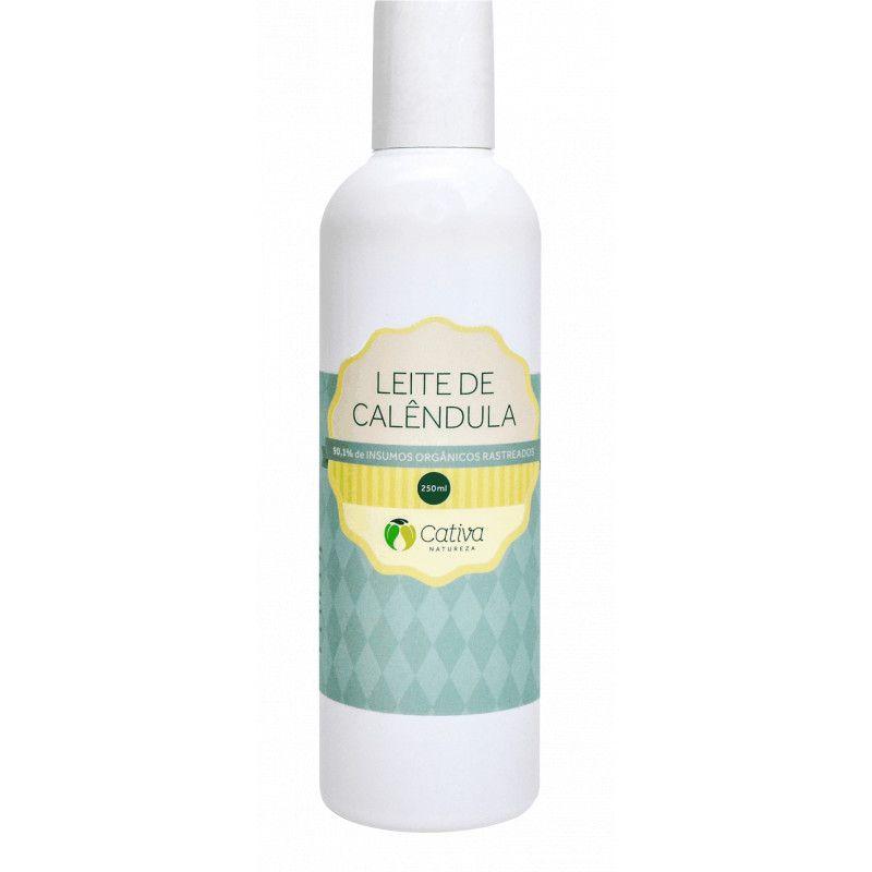 Leite de Calêndula Hidratante Natural Orgânico Vegano 250ml