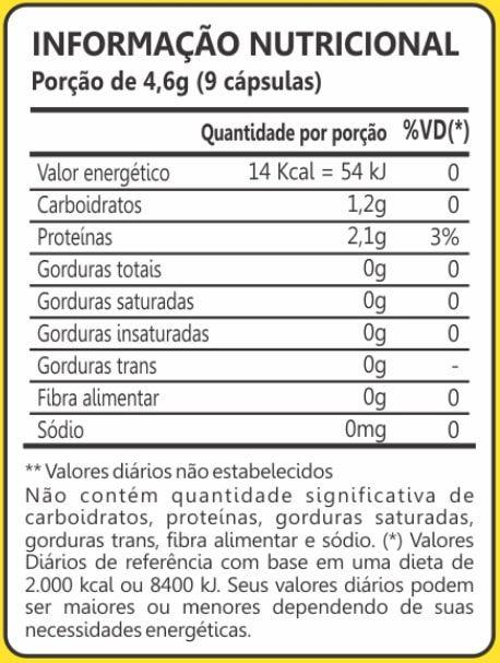 Levedo de Cerveja 450mg 120 Cápsulas Maxinutri