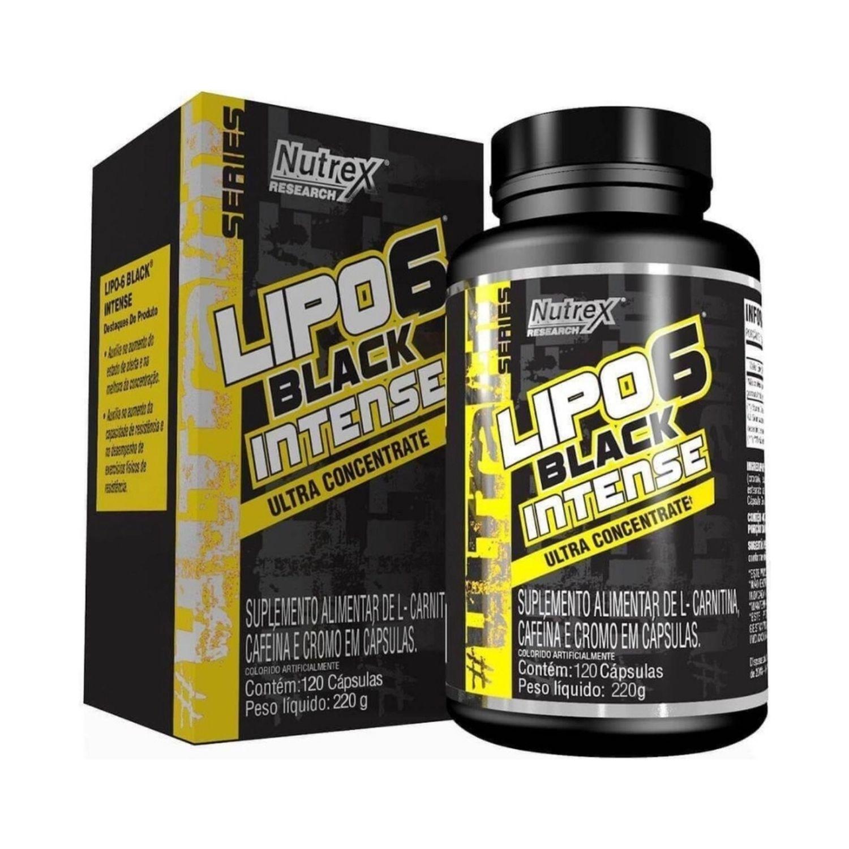 Lipo 6 Black Intense Ultra Concentrado 120 Cápsulas Nutrex